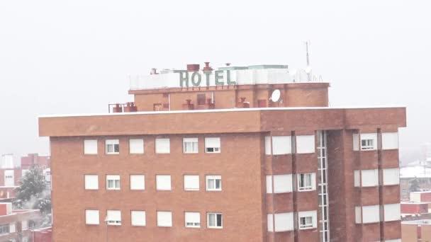 Logo hotelu ve městě Madrid Španělsko