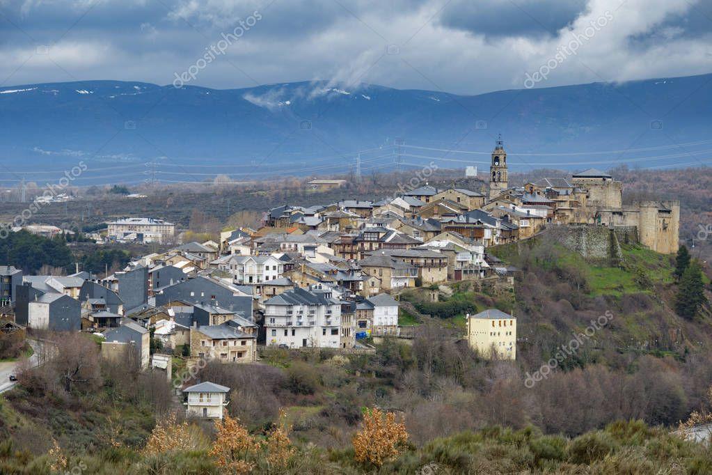 Winter in Puebla de Sanabria, Castilla y Leon, Spain