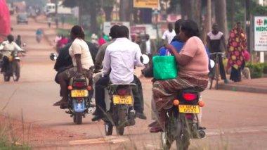 Motorbikes in Africa