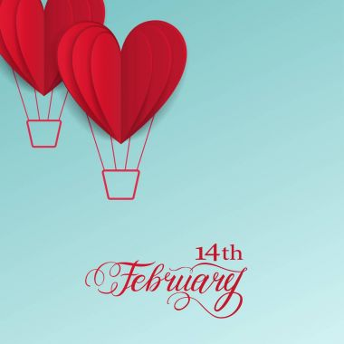 Symbol of love on sweet background