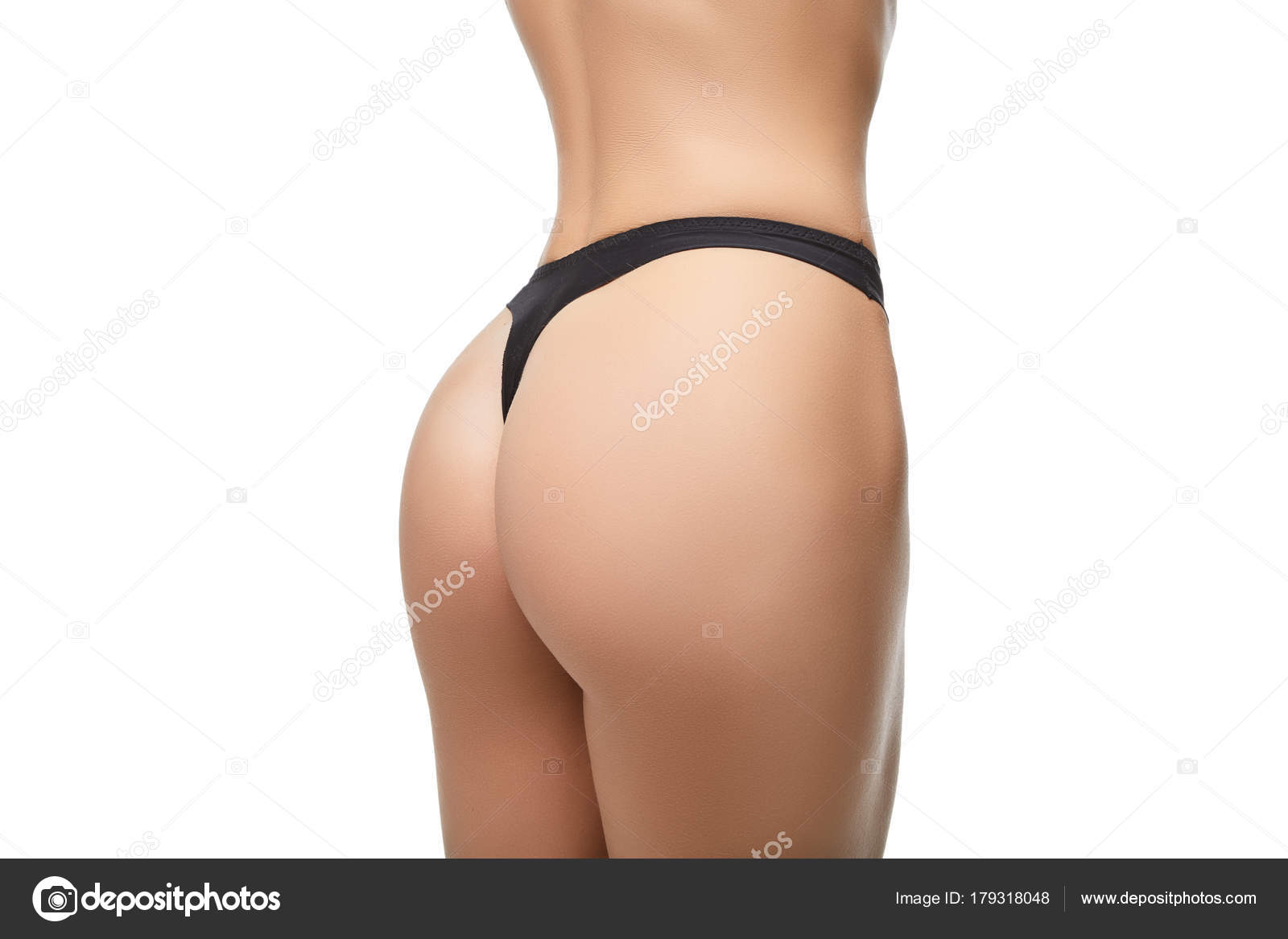 Beautiful Girl Butt On In Black Panties  Stock Photo  Svetography 179318048-2271