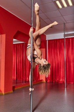 beautiful pole dancer girl