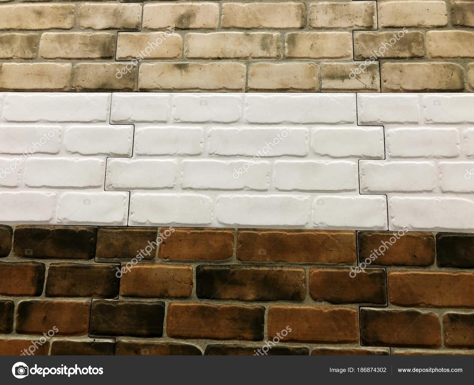 Piccole mattonelle quadrate decorativi colorati mattoni texture