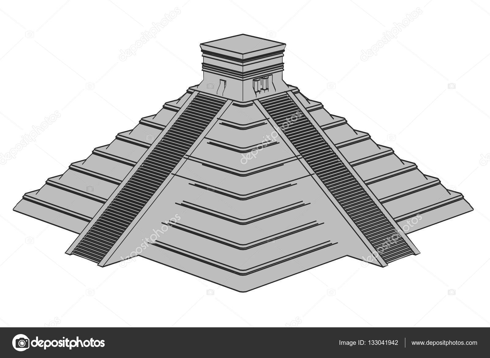 Imágenes: Piramides Mayas Animadas