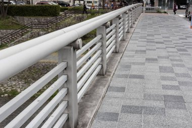 Modern walkway in Japan