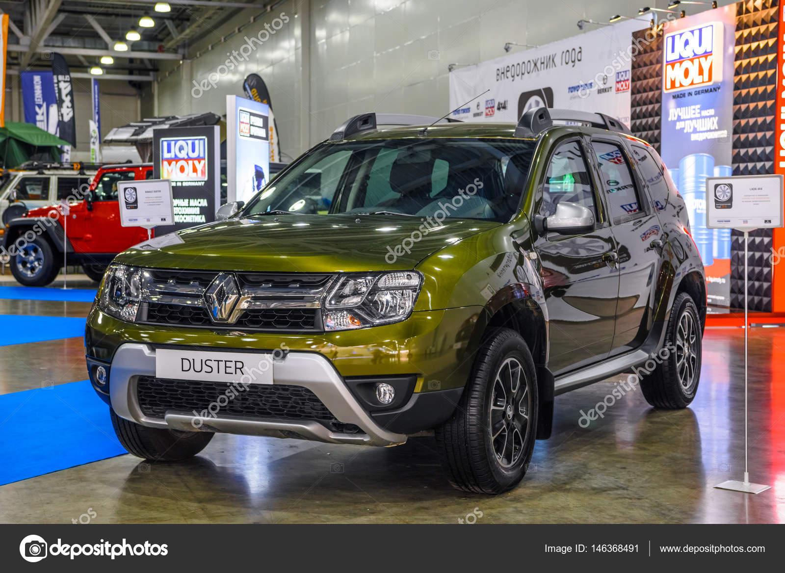 москва августа 2016 Renault Duster представлены на ммас