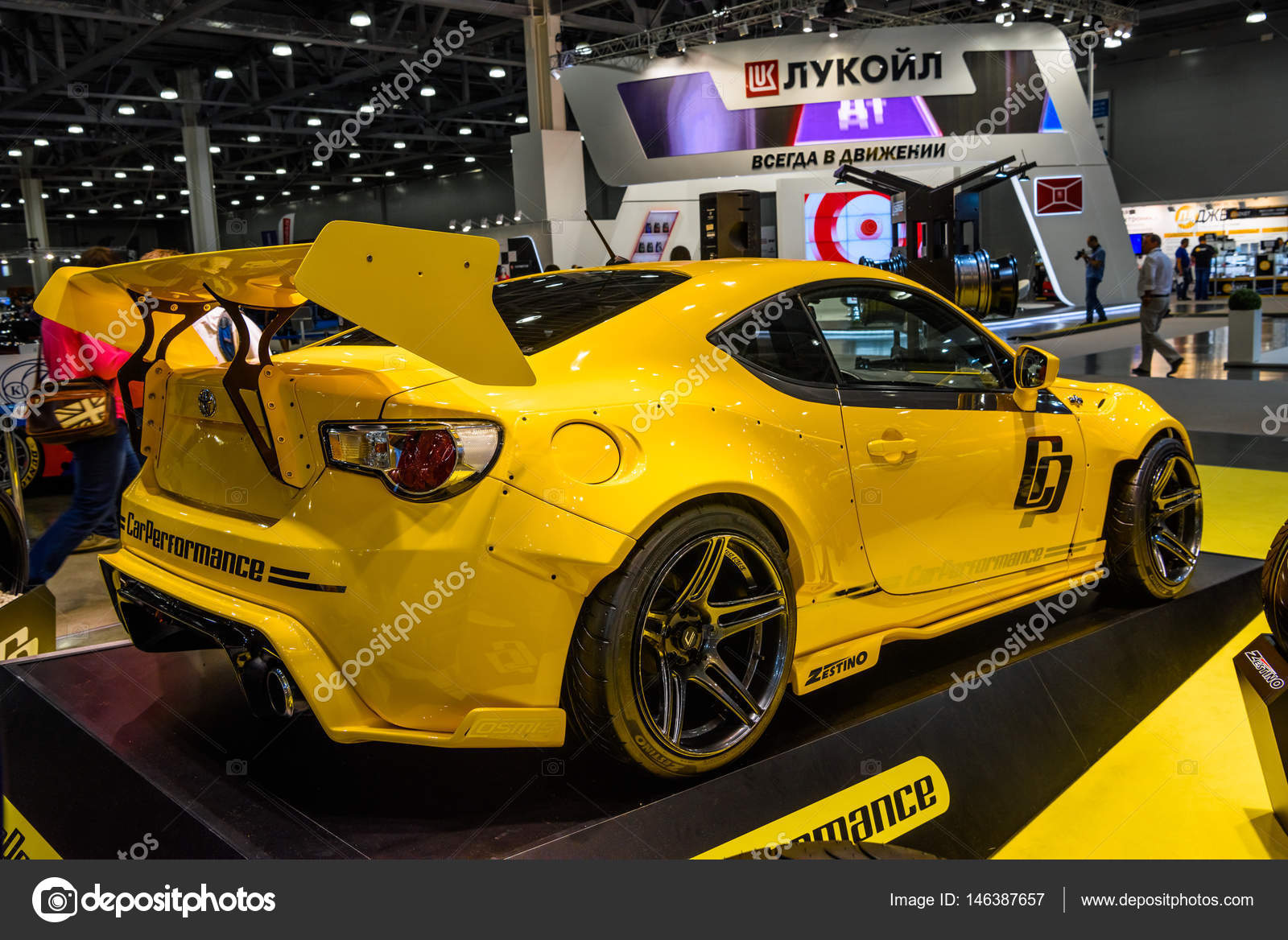 Moscow Aug 2016 Toyota Gt86 Presented At Mias Moscow