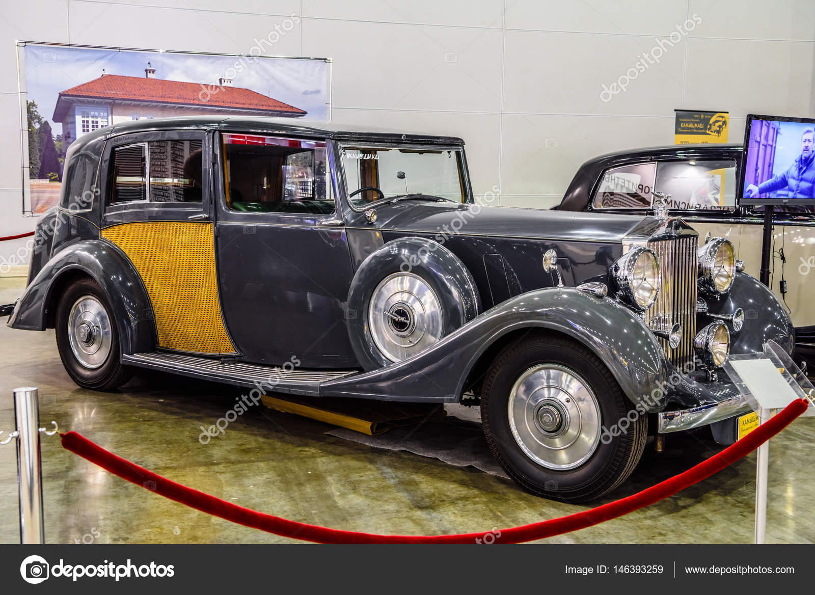 Moscow Aug 2016 Rolls Royce Phantom Iii 1937 Presented At Mias Moscow International Automobile Salon On August 20 2016 In Moscow Russia Stock Editorial Photo C Eagle2308 146393259