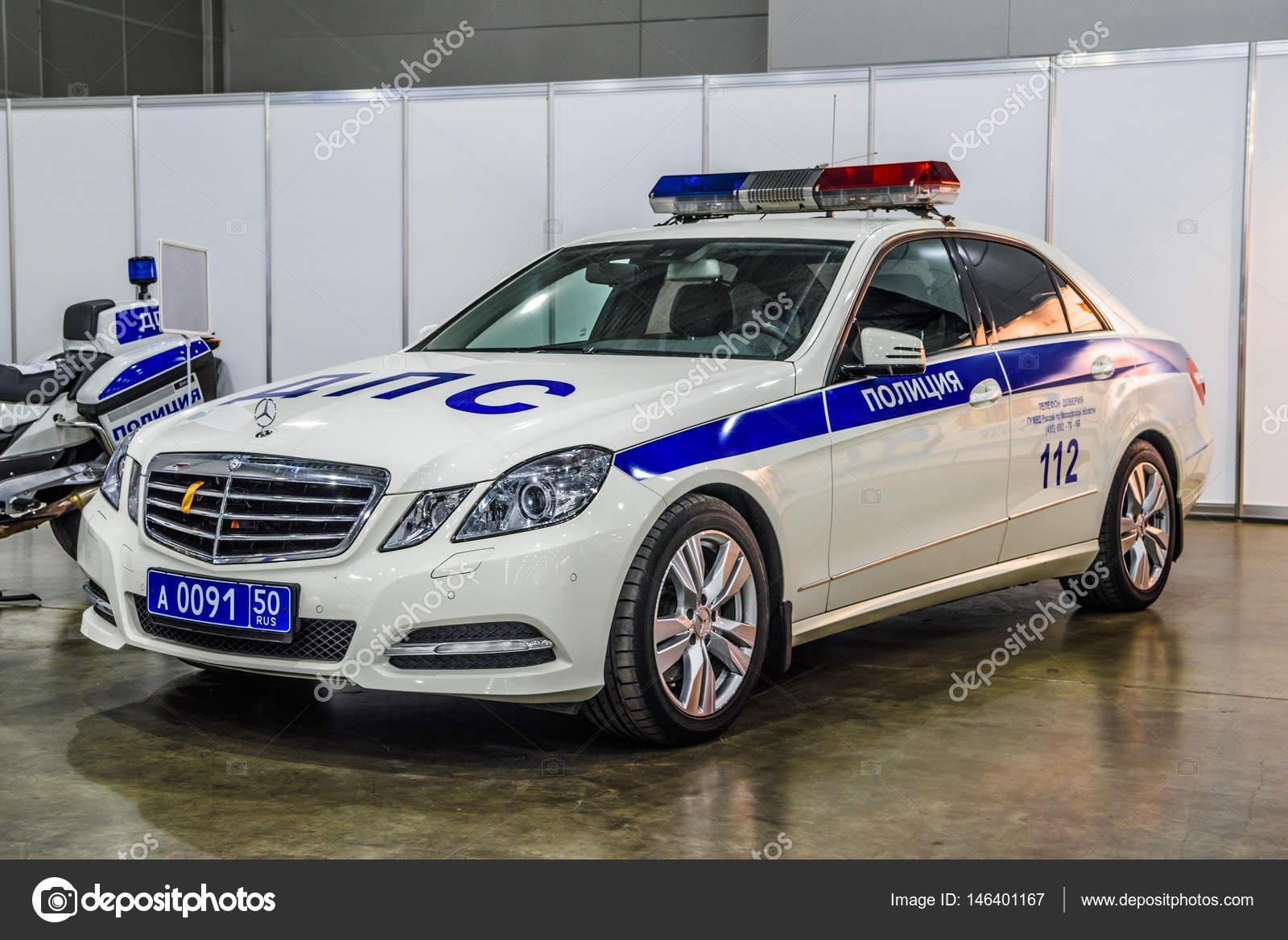Moscow Aug 2016 Mercedes Benz E Klasse W212 Militia