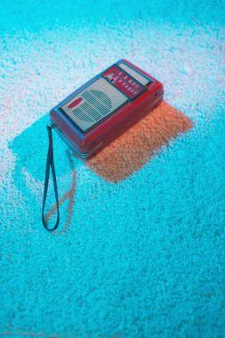 Portable vintage transistor