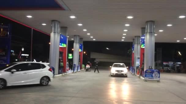 PTT Oil station. Location on road no.1101