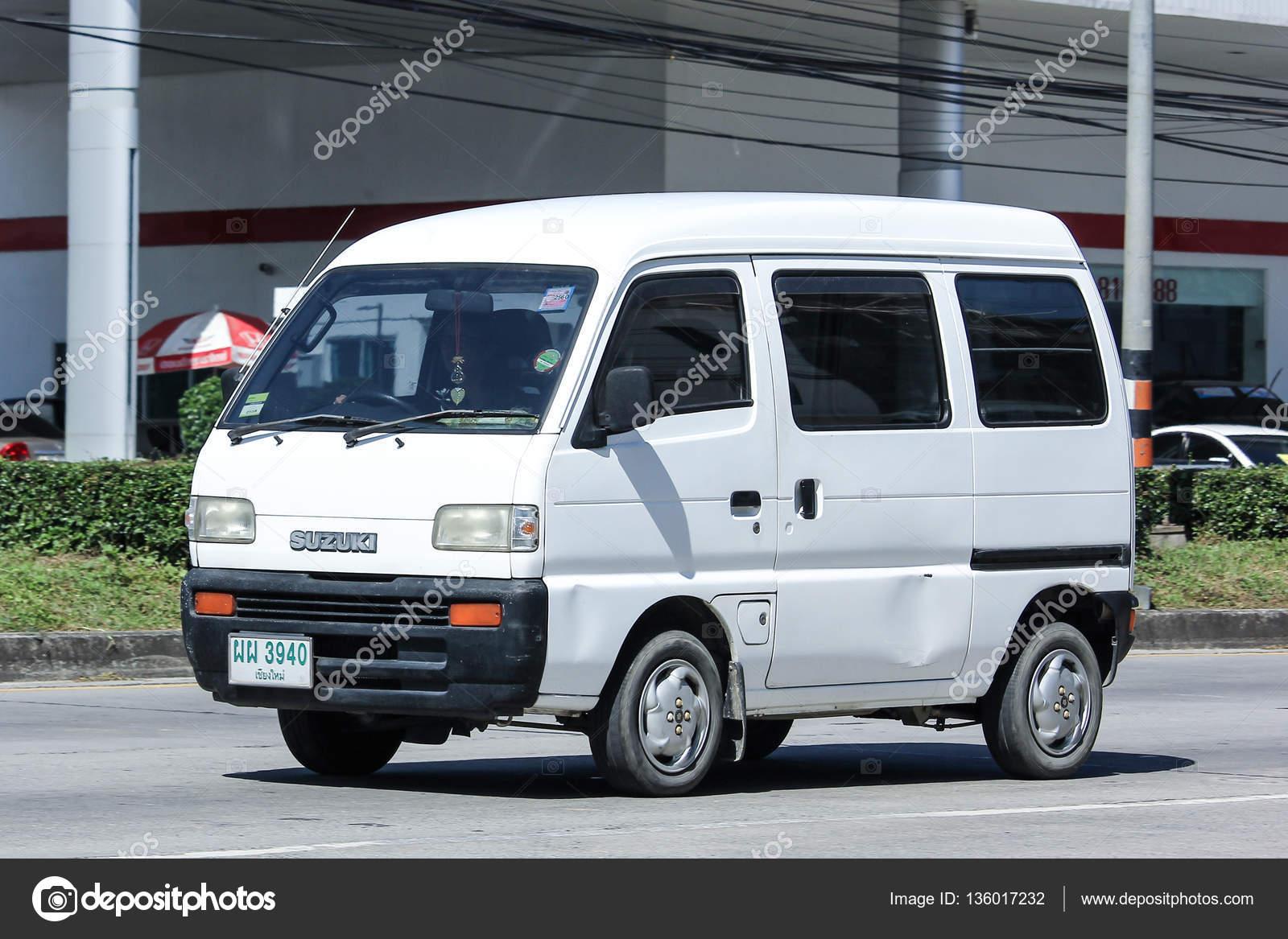 car, Mini Van of Suzuki super carry van. – Stock Editorial ...