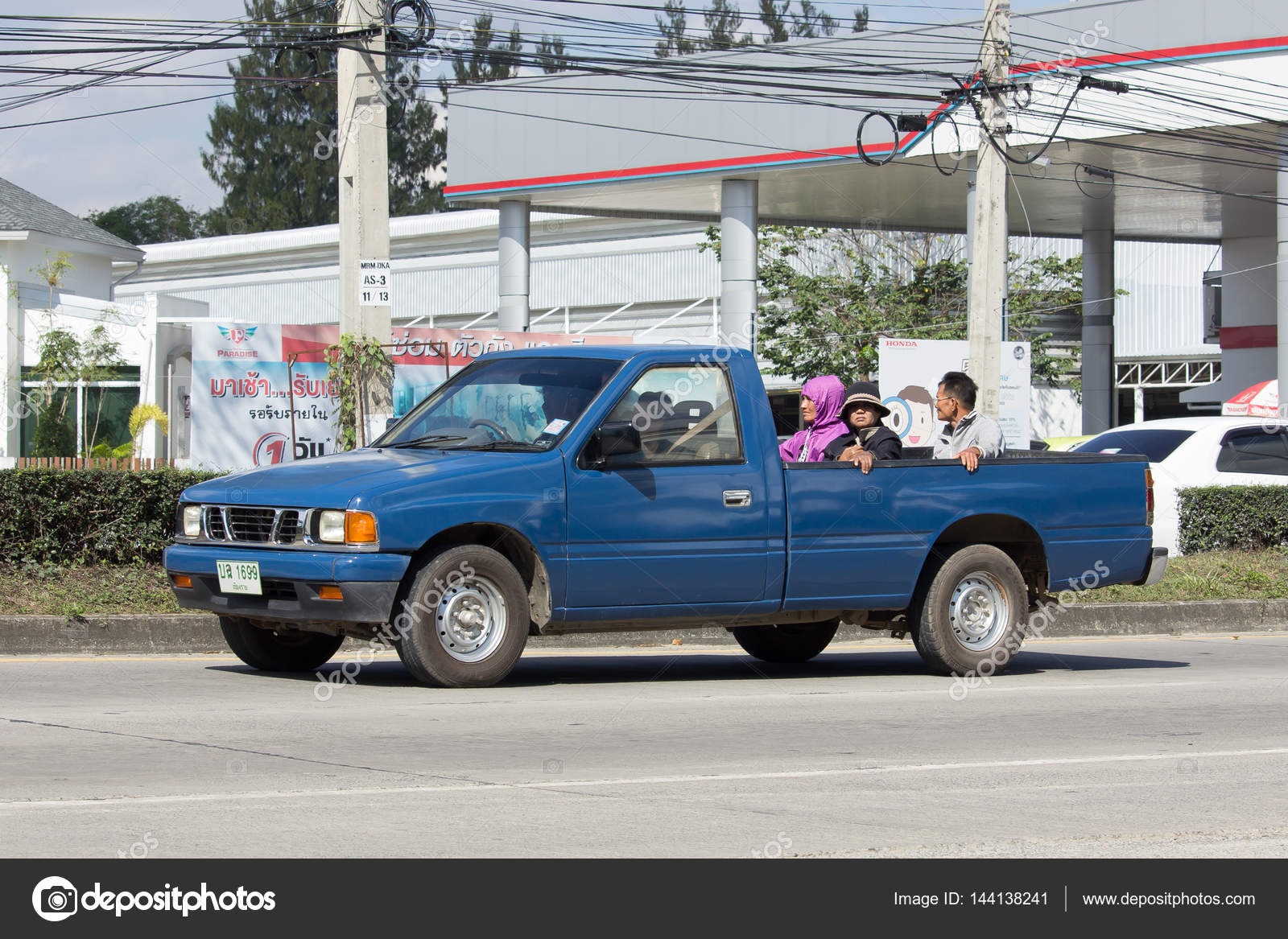 Private Isuzu Old Pickup car – Stock Editorial Photo © nitinut380 ...