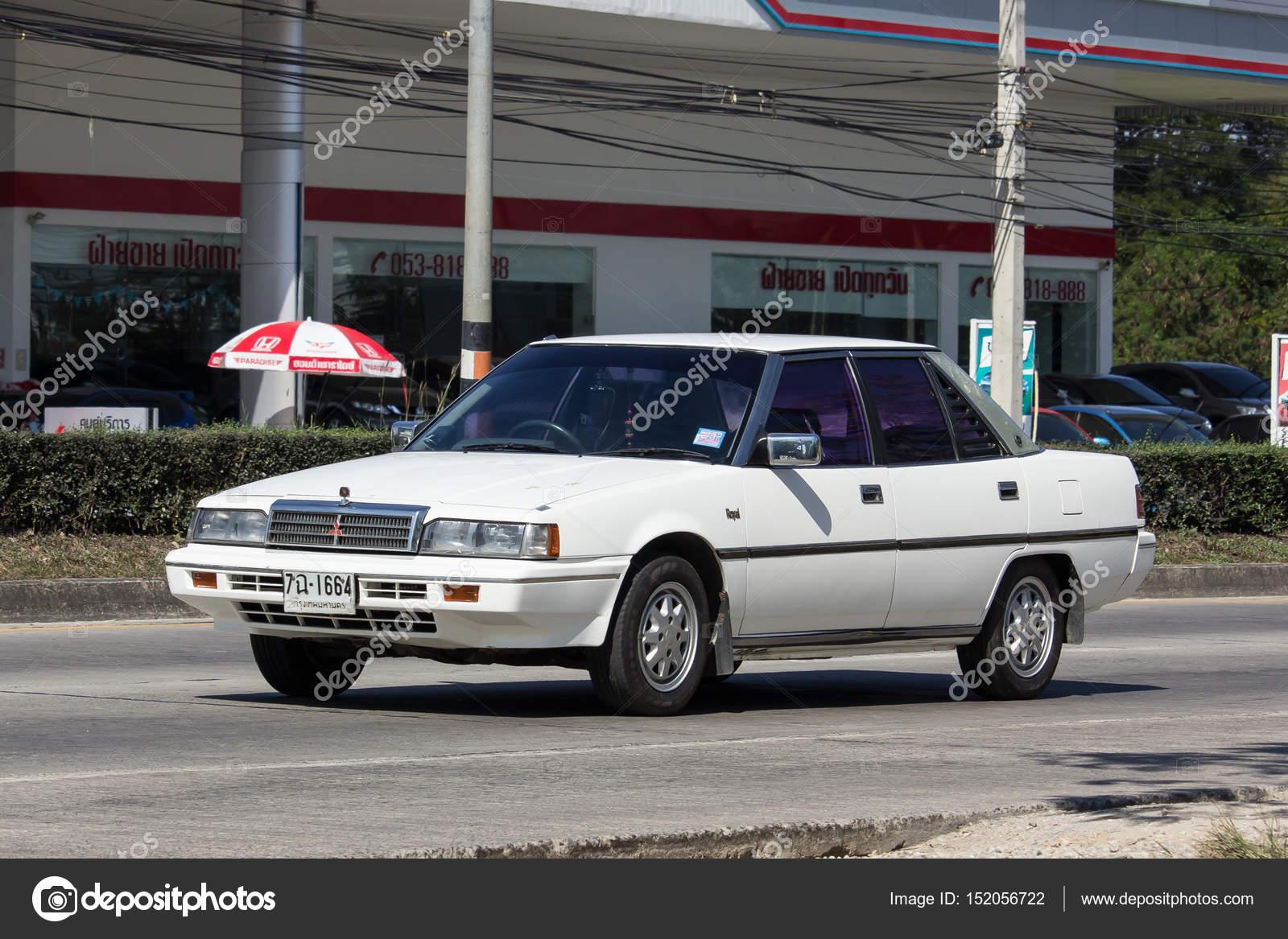 Old Private Car Mitsubishi Galant Stock Editorial Photo