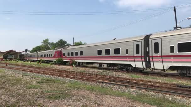 New Passenger car of Train no.11. Uttaravithi between Bangkok and Chiang mai.