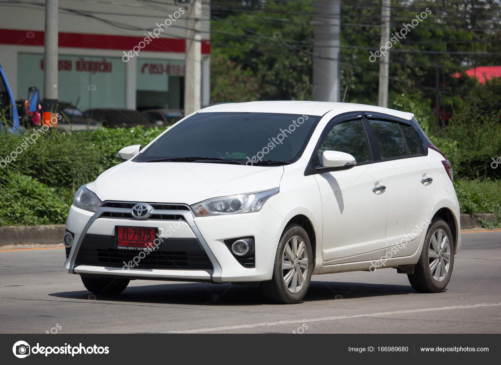 Private Car Toyota Yaris Eco Car Stock Editorial Photo C Nitinut380 166989680