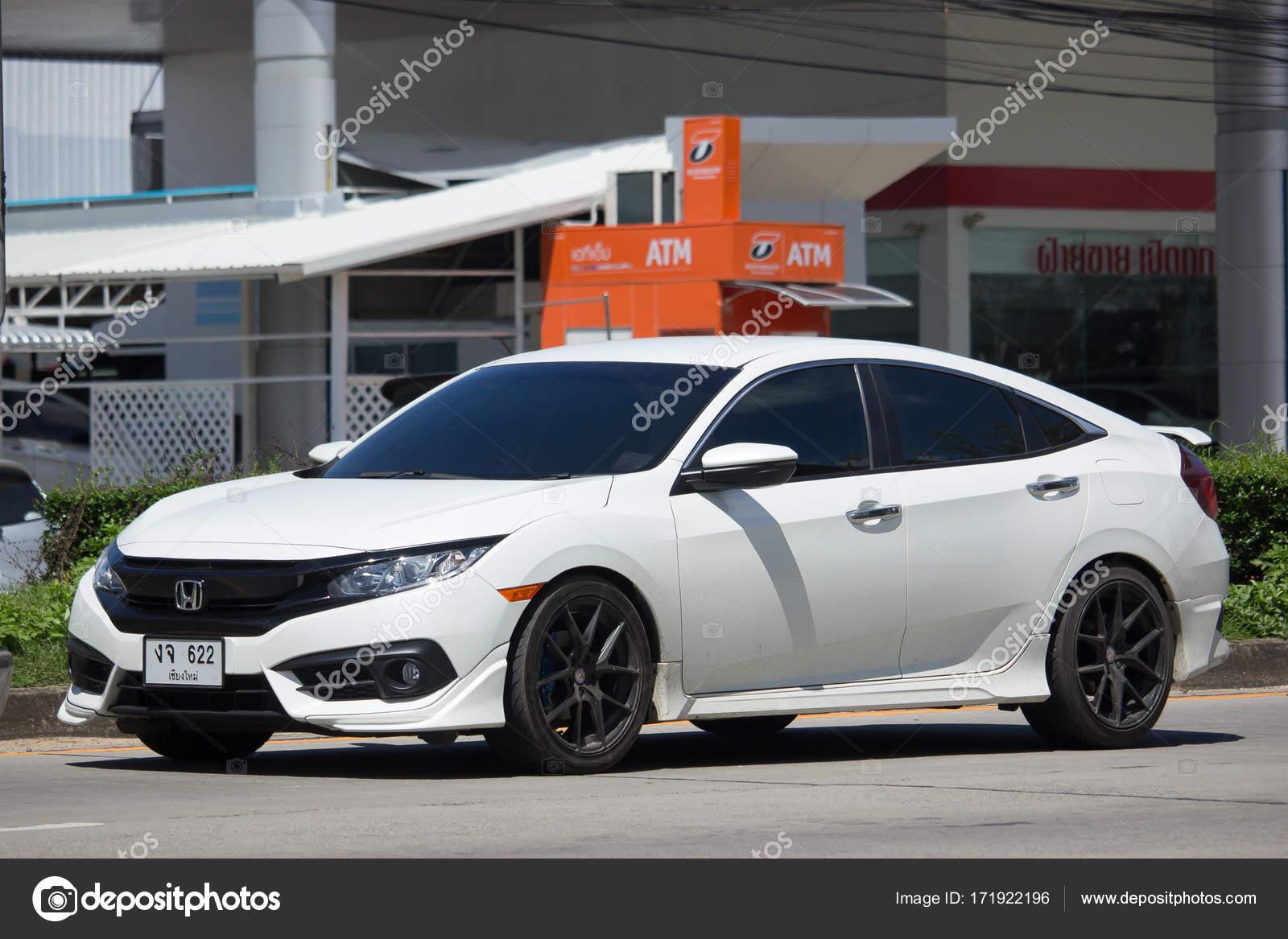 Privado Nova Automóveis Honda Civic Décima Geração U2014 Fotografia De Stock