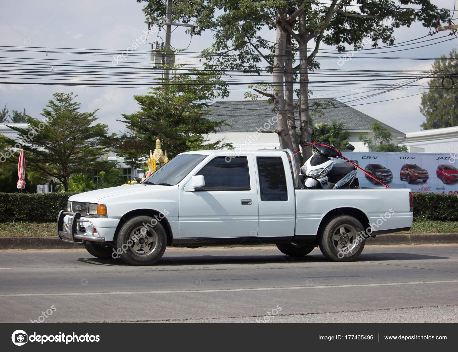 Private Old Isuzu Pickup Truck. – Stock Editorial Photo © nitinut380 ...