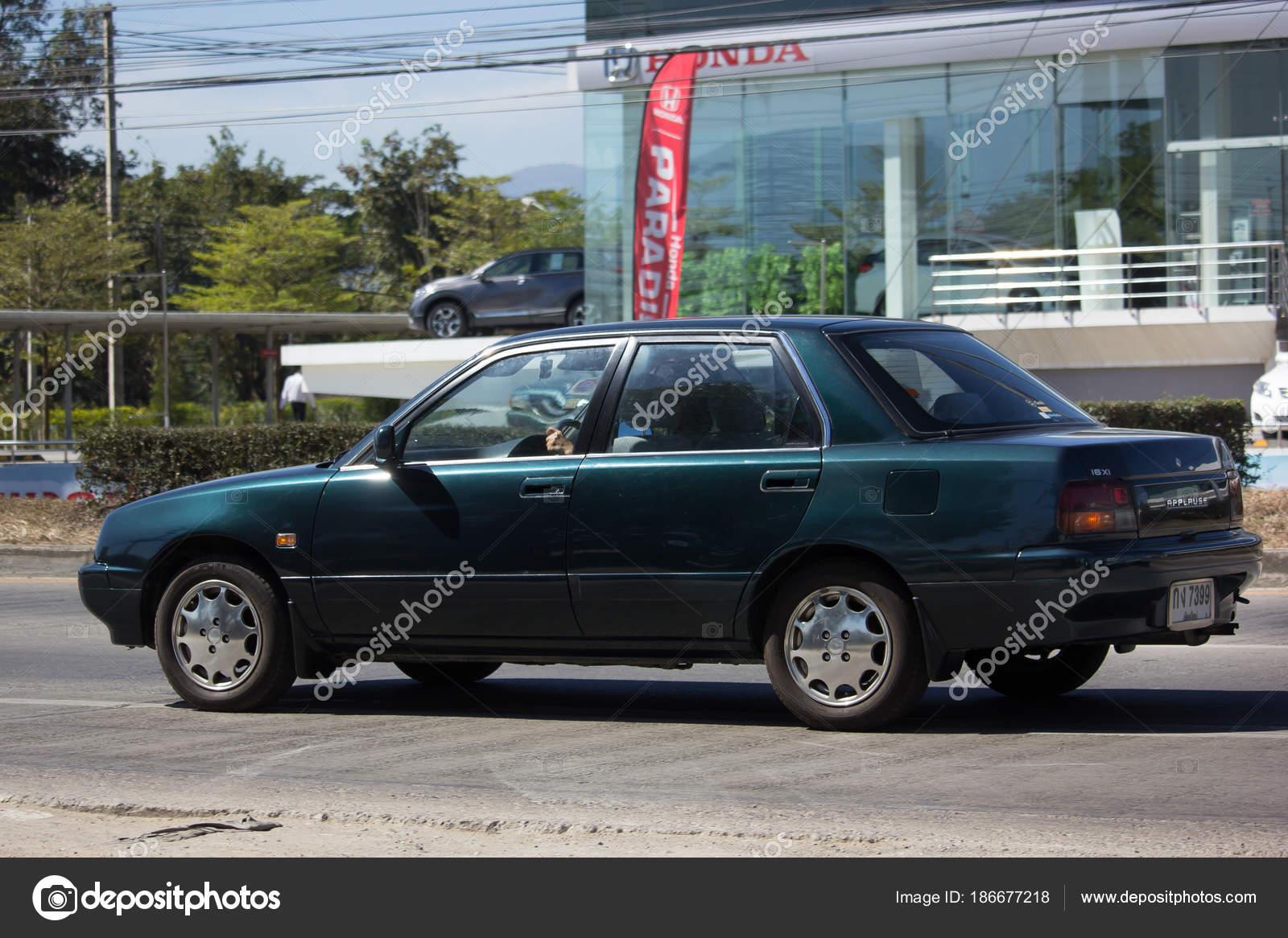 Private Old Daihatsu Applause Car Stock Editorial Photo