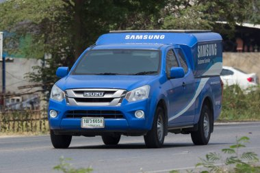 Pick up truck of Samsung Mobile Service