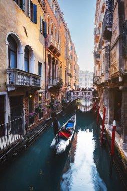 Beautiful street in Venice, Italy