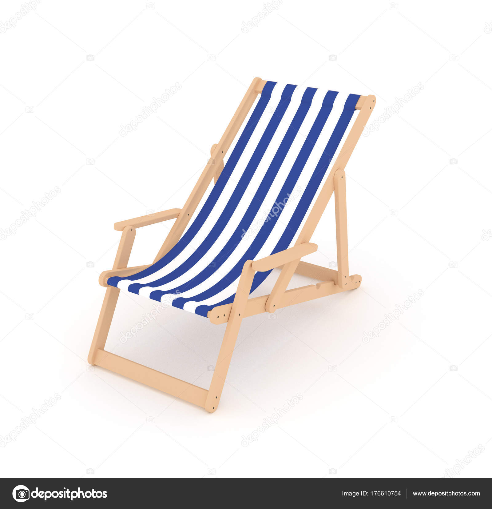 3D sun beach folding chair with cloth cover with naval pattern u2014 Photo by kwaczek  sc 1 st  Depositphotos & Sun Beach Folding Chair Cloth Cover Naval Pattern u2014 Stock Photo ...