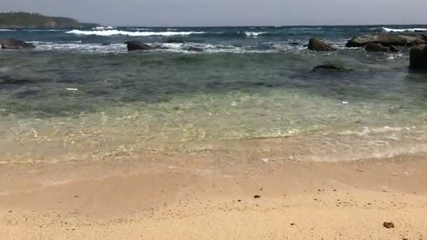 Ocean Waves / Tropical island, beautiful morning at the beach and relaxing  ocean waves