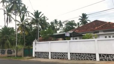 Amazing streets of tropical Sri Lanka