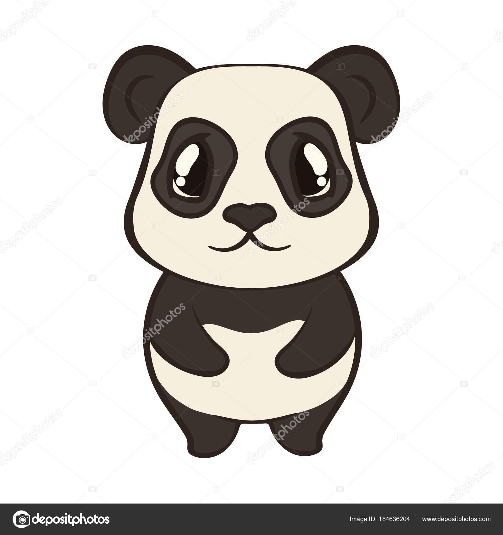 Dibujos Oso Panda Oso Panda Lindo Personaje Estilo Dibujos