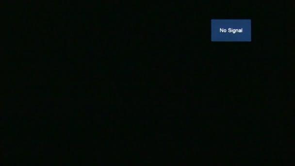 A televízió nem jel üzenet