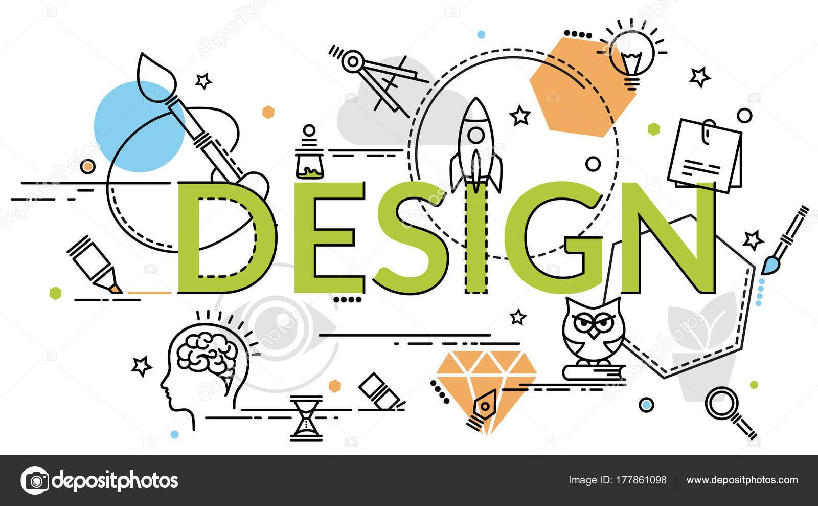 Fantastisch Design, Kunst, Branding, Corporate Identity, Stationär, Produkt Design,  Malerei, Für Website Banner, Flyer Und Print U2014 Vektor Von Pieceofmind