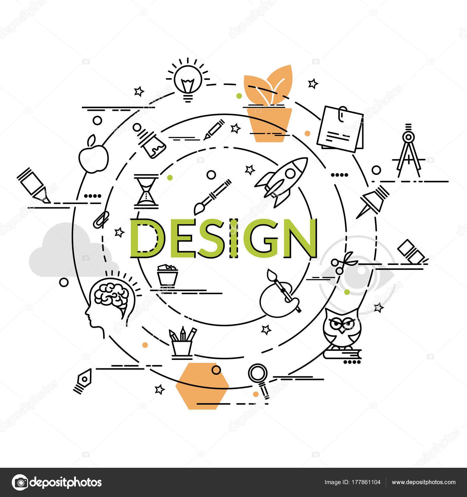 Design, Kunst, Branding, Corporate Identity, Stationär, Produkt Design,  Malerei, Für Website Banner, Flyer Und Print U2014 Vektor Von Pieceofmind