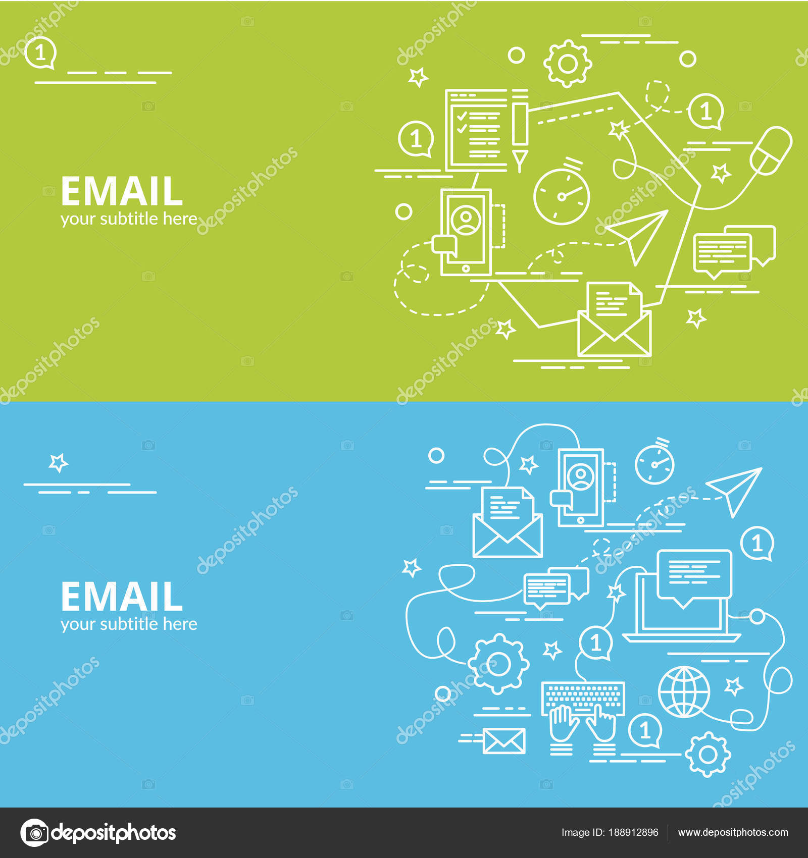 Flat Colorful Design Concept For Email Infographic Idea Of Making Creative Products Template Website Banner Flyer And Poster Vector By Pieceofmind