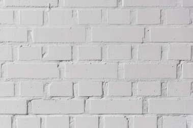 White bricks wall texture background stock vector