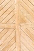 Fotografia Vecchie plance di legno verniciate beige