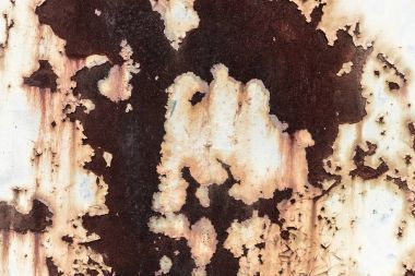 Brown rusted surface abstract background