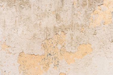 Dirty wall with old paint surface