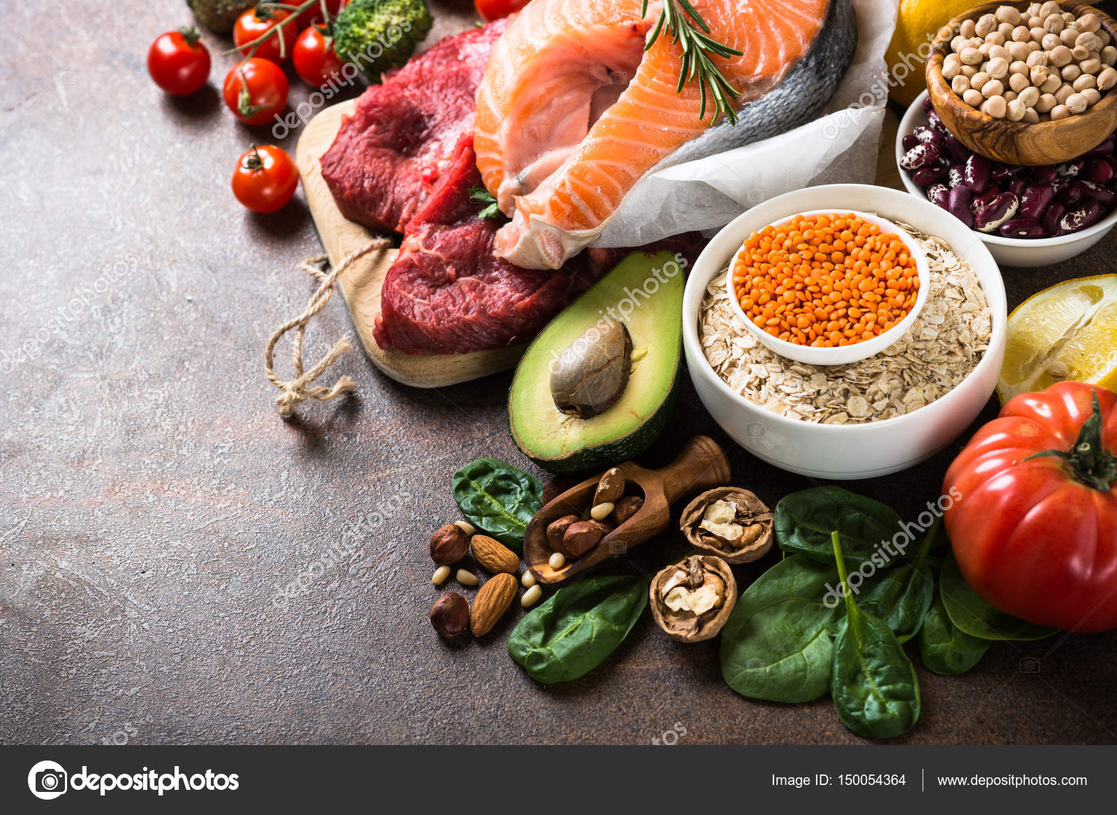 Healthy eating food platenutrition balanceHealthy eating food platehealthy  nutrition balance diagram- CanStock