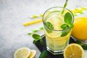 Limonádé. Hagyományos nyári ital.