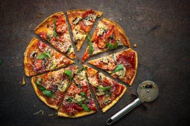 "Картина, постер, плакат, фотообои ""итальянская пицца "", артикул 151511216"