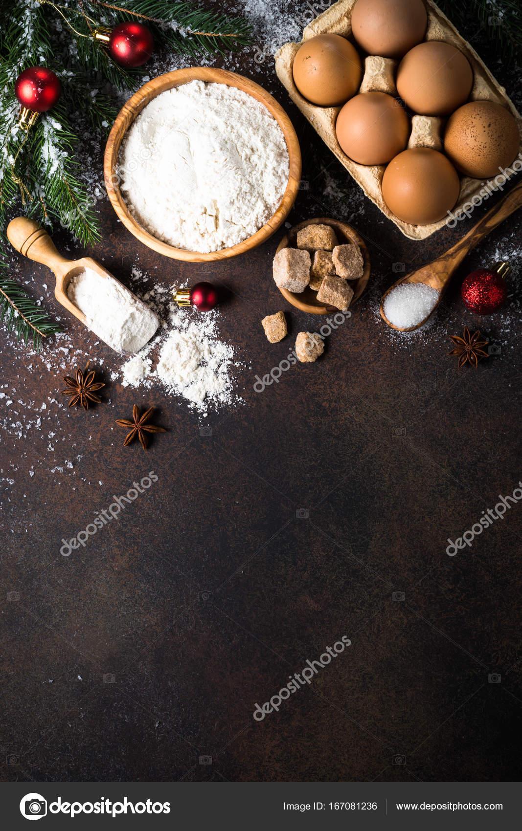 Cocinar En Navidad | Ingredientes Para Cocinar La Hornada De La Navidad Fotos De Stock