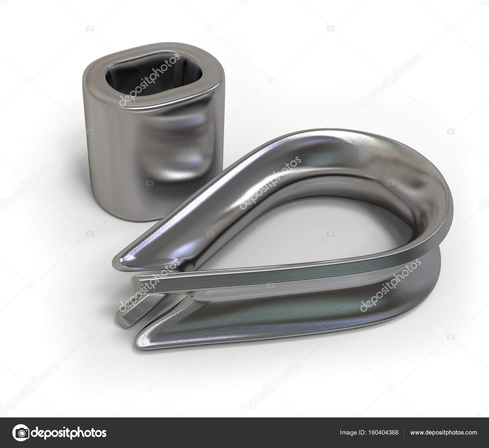 Wire rope accessories — Stock Photo © coddie #160404368