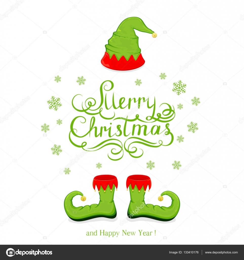 Schuhe-Elf auf weiß — Stockvektor © losw #133410176