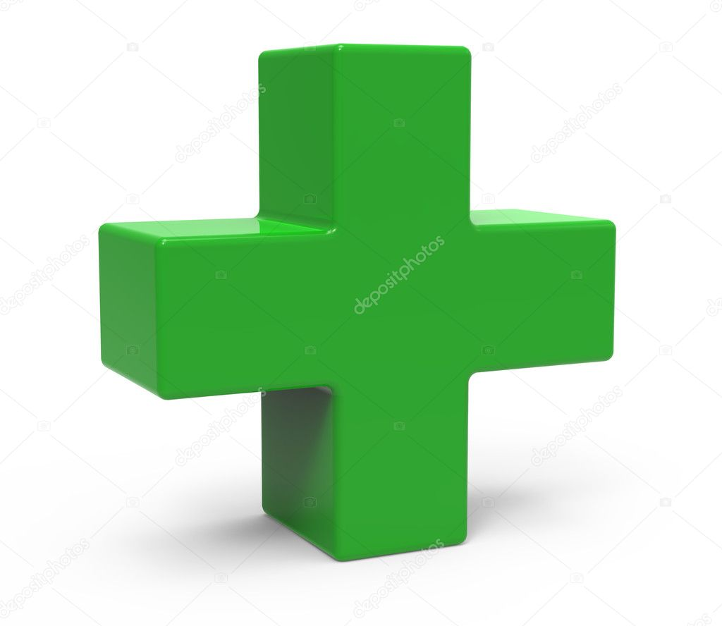 green plus sign � stock photo 169 kchungtw 127945294