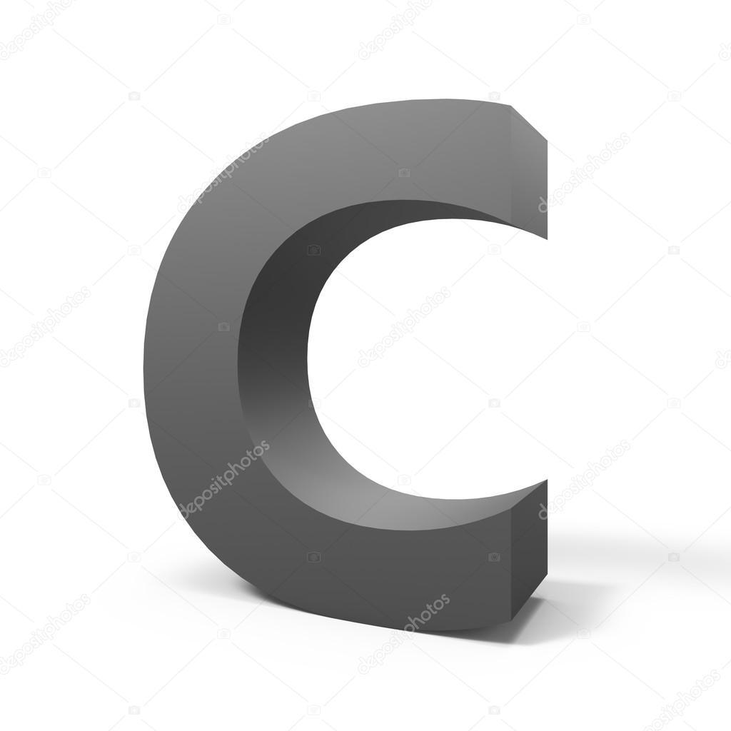 grey letter c � foto de stock 169 kchungtw 128068984