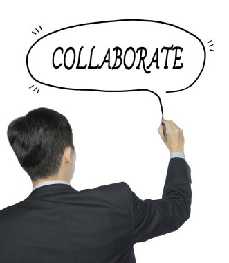 collaborate written by man