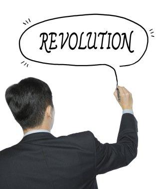 revolution written by man
