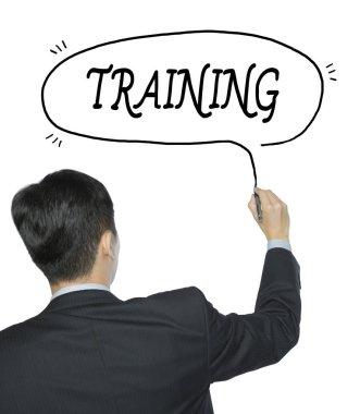 training written by man