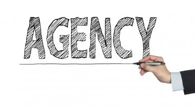 agency written by hand