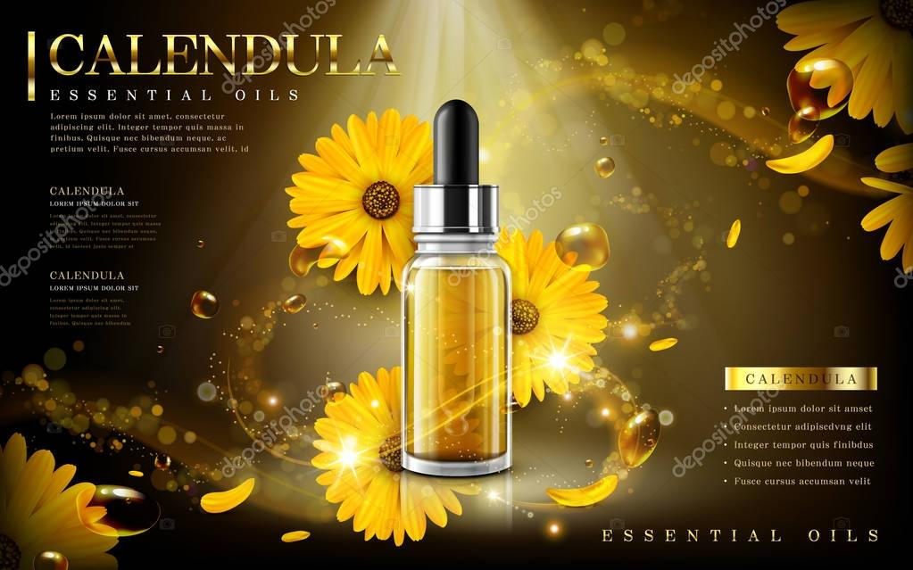 calendula essential oil ad